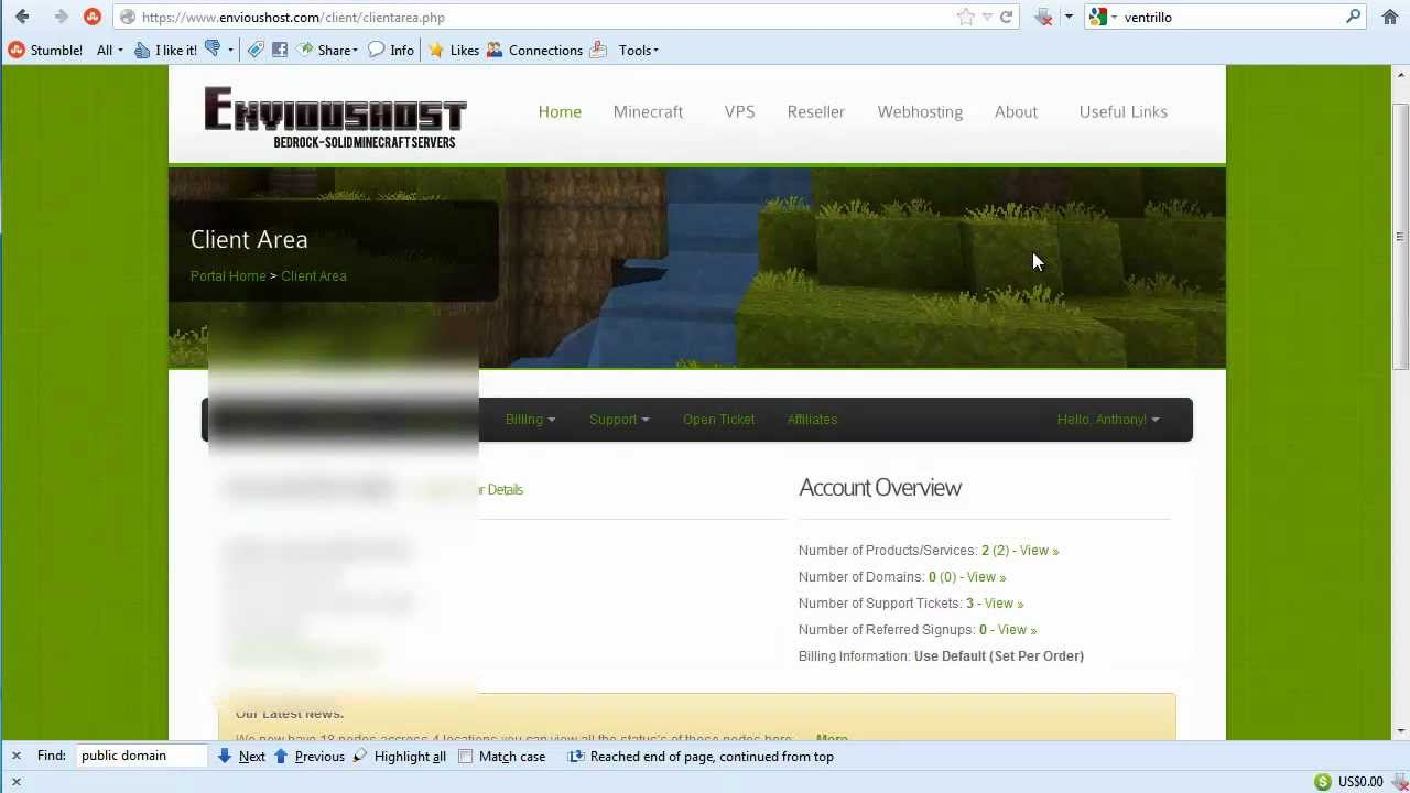 how to find website cpanel