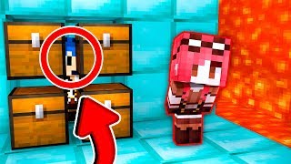 Minecraft ITA - NASCONDINO NELLA CAMERETTA GIGANTE!!