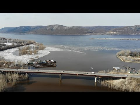 Мост через реку Сок / половодье г.Самара #Samara #Russia