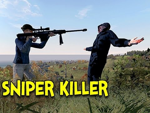 SNIPER KILLER! - Arma 2: DayZ Mod - Ep.1
