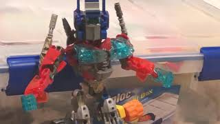 Optimus Prime G1 review bayverse Transformers movie