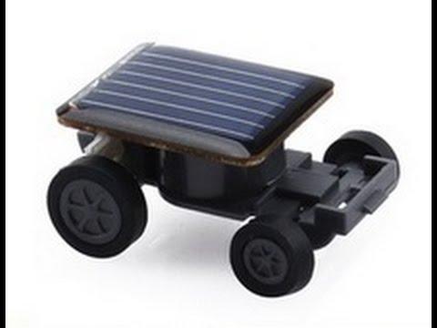 Mini Car Solar Powered Toy Car. Машинка на солнечной батарее