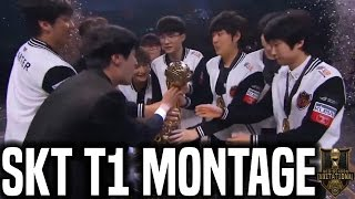 SKT T1 MSI 2017 Montage - Best Of SKT T1 Champions Of MSI 2017 | SKT T1 Replays