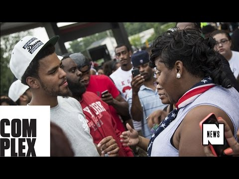J. Cole Talks About His Visit to Ferguson and Shares His Thoughts on Michael Brown