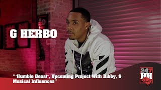 "G Herbo - ""Humble Beast"", Upcoming Project With Bibby, & Musical Influences (247HH Exclusive)"