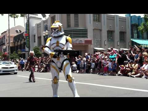 STAR WARS WEEKEND 2011 - Part 2 - DISNEY HOLLYWOOD STUDIOS
