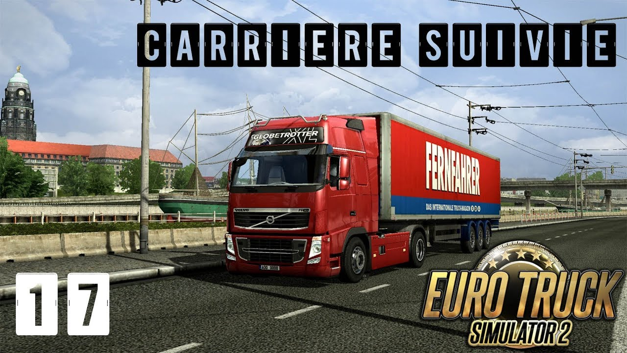 euro truck simulator 2 carri re suivie 17 map france. Black Bedroom Furniture Sets. Home Design Ideas