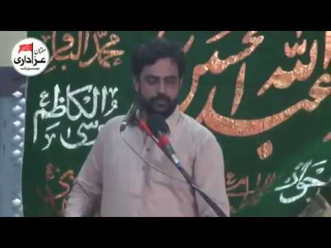 Zakir Syed Sajid Hussain Shah | Majlis e Aza 17 Zilhaj 2017 | Yadgar Shahadat Jori Ameer Muslim