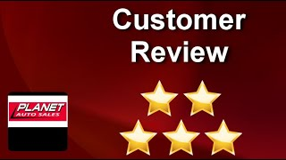 PLANET AUTO SALES LindonSuperb5 Star Review by Suzette Kooyman