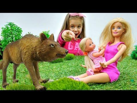 Игры с Барби - Штеффи заблудилась в лесу