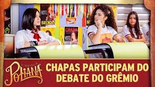 Chapas participam do debate para o grêmio   As Aventuras de Poliana