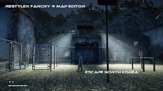 Restylex Farcry 4 Map editor: Escape North Korea