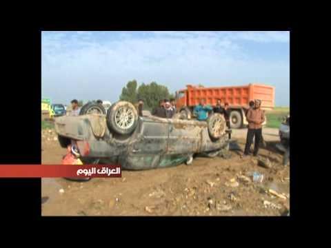 تهالك وقدم الطريق العام بين مدينتي شيخ سعد وعلي الغربي يتسبب في العديد من الحوادث والضحايا #1