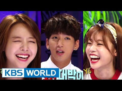 Hello Counselor - Sojin, MinAh(Girl's Day) and Baro, Gongchan(B1A4) (2014.08.25)