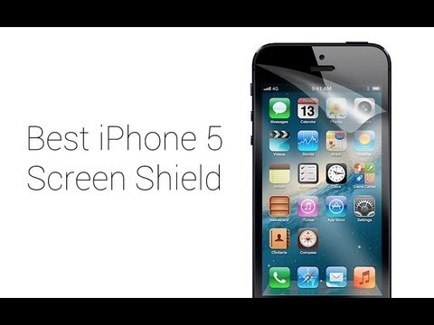 Best iPhone 5/5C/5S Screen Protector