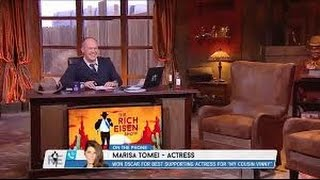 """The Rich Eisen Show: Marisa Tomei talks Belichick's """"My Cousin Vinny"""" reference"""