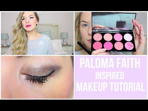 Paloma Faith Makeup Tutorial | Dollybowbow ad