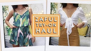 ZAFUL First Impressions Haul! Spring/Summer Try-On Haul