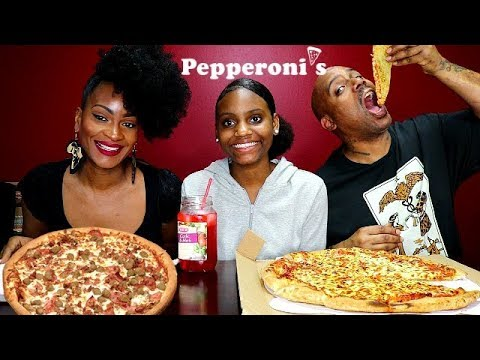 PEPPERONI'S PIZZA MUKBANG! thumbnail