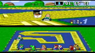 Crazy Tracks Hack of 'Super Mario Kart'