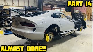 Rebuilding a Wrecked 2017 Dodge Viper Part 14