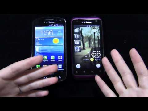 Samsung Stratosphere vs. HTC Rhyme Dogfight Part 1