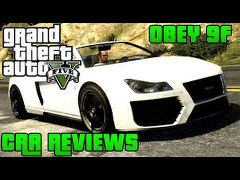 GTA V Online Obey 9F Cabrio: Car Reviews #2