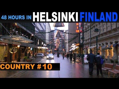 A Tourist's Guide to Helsinki, Finland - New Year's Eve
