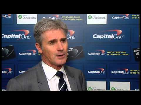 Alan Irvine looks back on West Bromwich Albion's Capital One Cup triumph over Oxford United