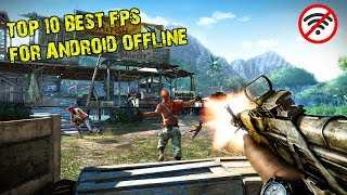 10 Games Android FPS OFFLINE Terbaik I Best FPS games for Android Offline
