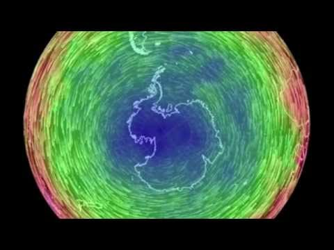 Changes in Polar Vortices (Annual Cycle)