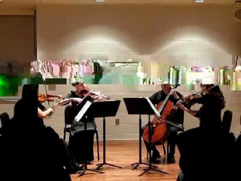 Fish and the Ladies - Haydn Emperor Quartet, mvmt. 2