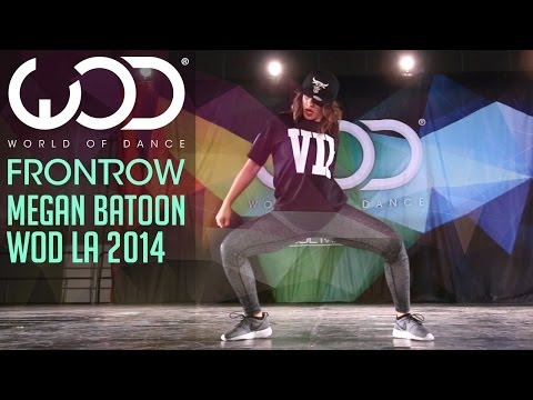 Megan Batoon | FRONTROW | World of Dance #WODLA '14