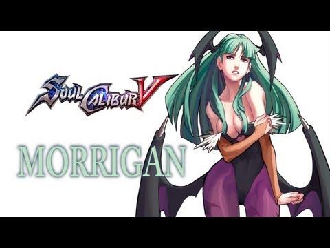 SoulCalibur V Create A Soul - Morrigan (Darkstalkers)