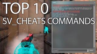 [ CSGO ] - Top 10 Sv_Cheats Commands! (DK)