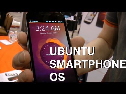 Ubuntu Linux OS for smartphones - first look