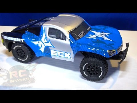 RC ADVENTURES - Unboxing an ECX Torment - Affordable. Waterproof. RTR Radio Control 2WD SCT Truck