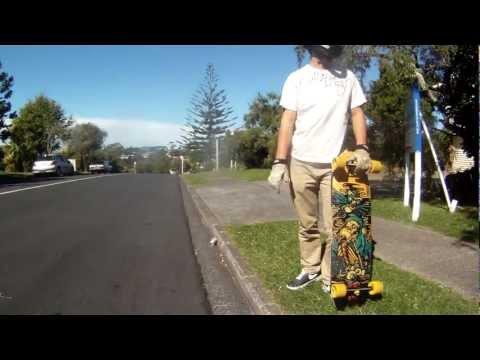 Longboarding: Curious George.