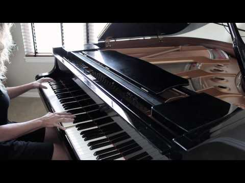 Say Something (Piano Cover) - A Great Big World - Susan Ward - Music Video