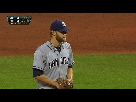 Cashner strikes out seven in one-hit shutout
