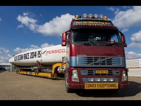 Volvo Ocean Race - Building the Future 9 - Epic Road Trip