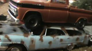 UP CLOSE ON THE BIGGEST MODEL CAR JUNKYARD ON YOUTUBE ◣ ◢