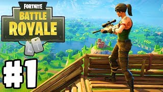 "New ""Battle Royale"" Game | Fortnite: BATTLE ROYALE | Gameplay Walkthrough Part 1"