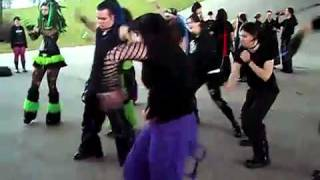 Cybergoth Dance Party