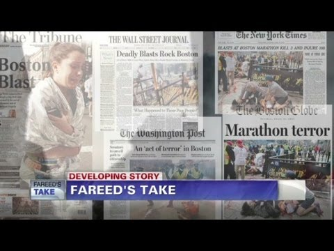 Fareed Zakaria GPS - Fareed's Take: Terrorism at the Boston Marathon