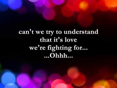 Can't We Try || Lyrics || Dan Hill and Vonda Shepard - YouTube