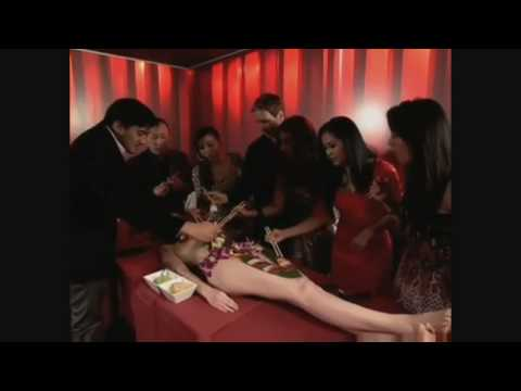 Xtreme Eating Body Sushi Nyotaimori Featurette Video