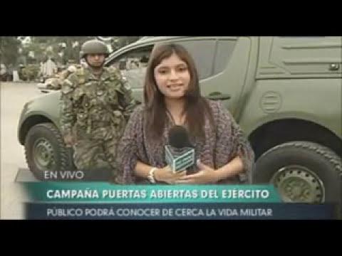 Campaña Cuarteles a Puertas Abiertas Ejército del Perú