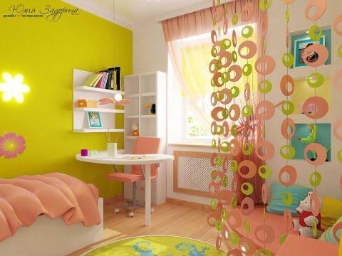 Детская комната для девочки своими руками идеи фото