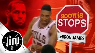 Scottie Pippen explains how to stop LeBron James | The Jump | ESPN